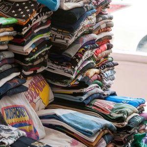 Vintage 90s Puma Striped Jersey V-Neck Shirt